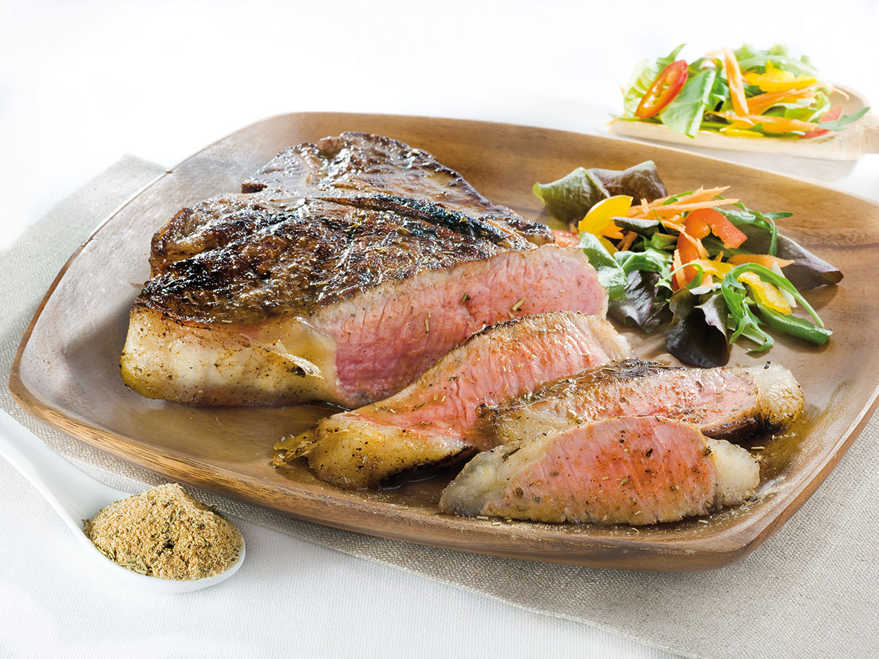 T-bone steak-cannamela